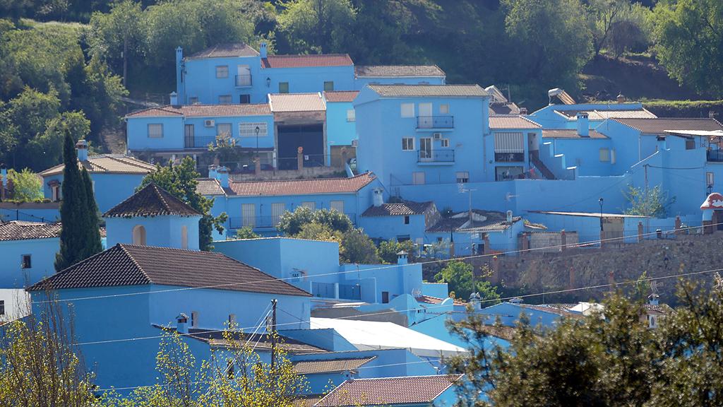 Juzcar Village des Schtroumpfs