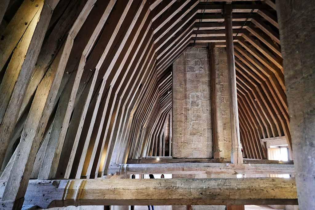 charpente du château d'Azay le Rideau