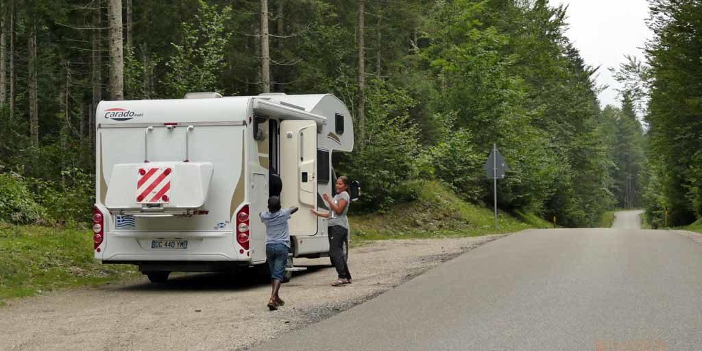 Route de Vorderriss à Krün